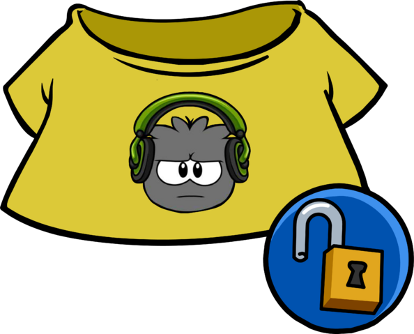 File:Green Dubstep Puffle Tee clothing icon ID 4932.PNG