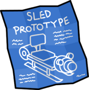 Sled Prototype Blueprints PSA Mission 4