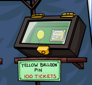 Yellow-balloon-pin