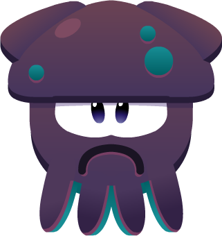 Emoji Frowning Squid
