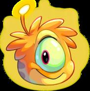 Orange Alien Puffle