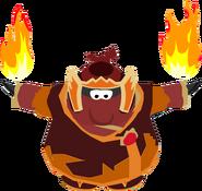 Fire Ninja dance