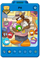 Puffle Handler Playercard (New)