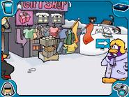 Secured gift shop