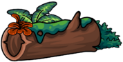 Mossy Log furniture icon ID 701