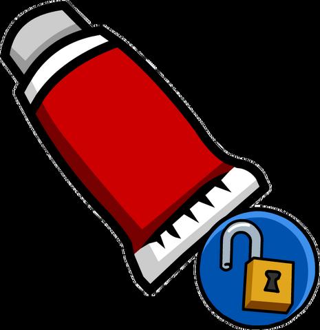 File:Red Face Paint (Unlockable).png