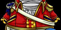 Scarlet Admiral Coat