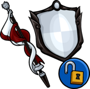 Staff and Shield unlockable icon