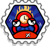 Turbo Battle stamp