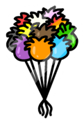 Puffle Balloon Pin icon