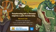Prehistoric Party Membership Error