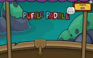 PufflePaddleWhitePuffle