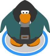 Frankenpenguin Costume in-game