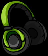 Green Headphones icon