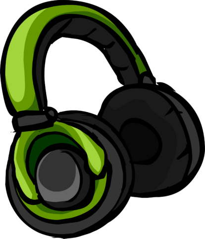 File:Green Headphones icon.png