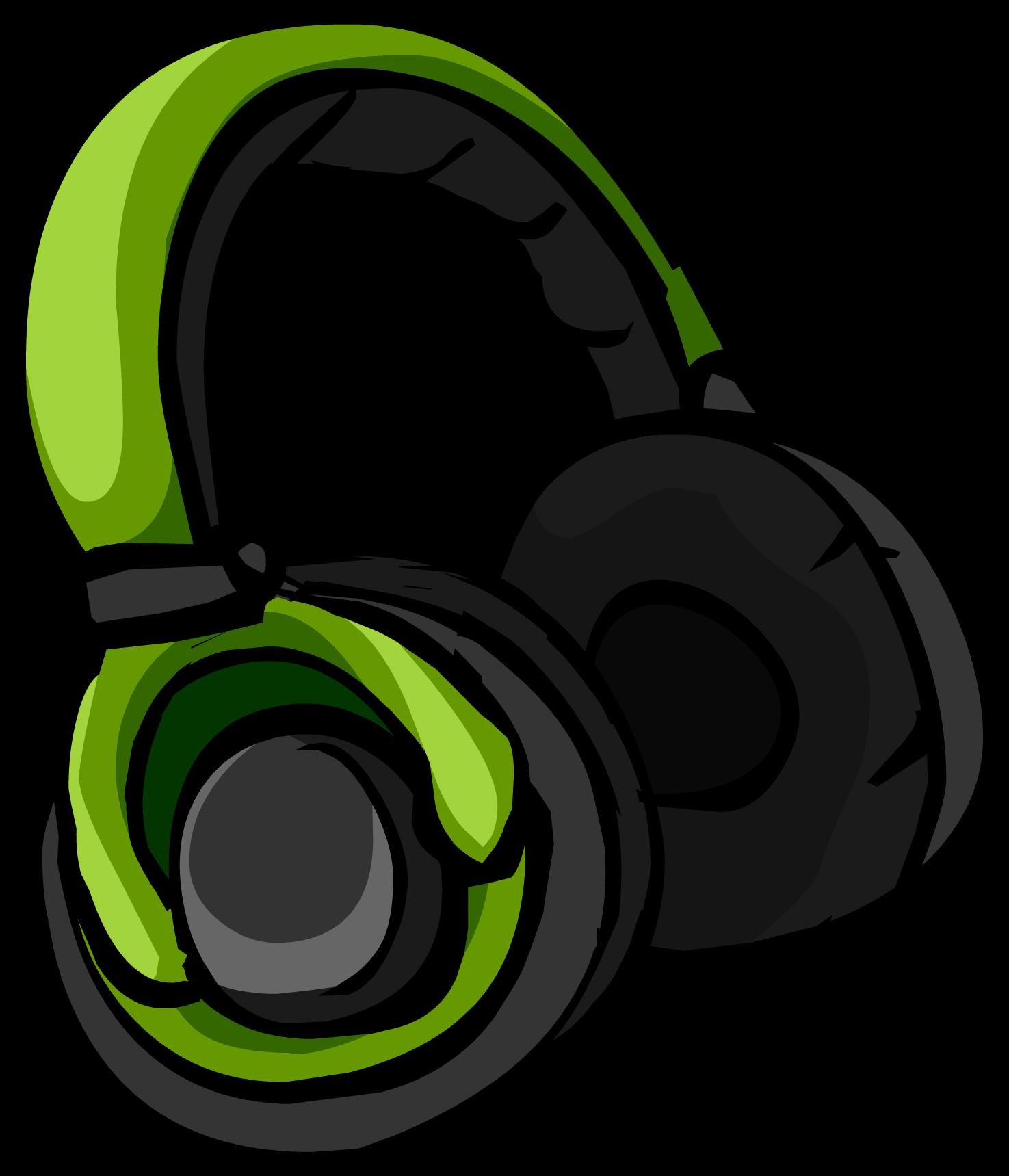 Green Headphones Club Penguin Wiki Fandom Powered By Wikia
