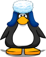 Blue Holiday Cap Player Card