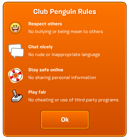 Rules Club Penguin Wiki Fandom Powered By Wikia