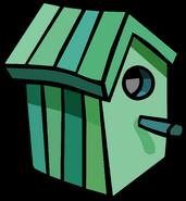 Green Birdhouse sprite 001