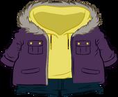 Purple Parka