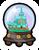Arendelle Globe Pin icon