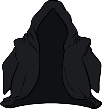 File:Black Jedi Cloak icon.png
