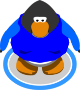 Blue Letterman Jacket ingame