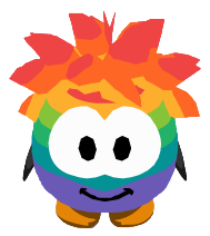 File:Rainbow Puffle Costume ingame.PNG