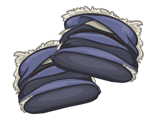File:Gray Furry Boots clothing icon ID 6152.png