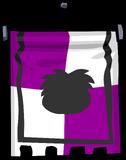 Purple Banner sprite 004