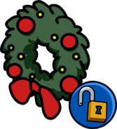 Holiday Wreath unlockable icon