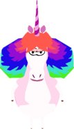 Rainbow Unicorn In Game