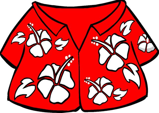 File:Red Hawaiian Shirt.PNG