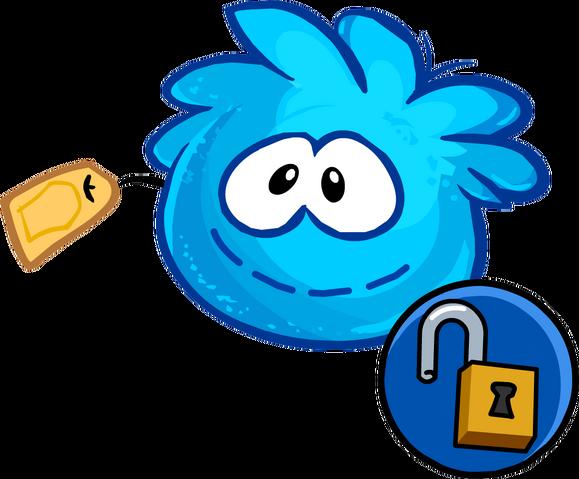 File:Blue Puffle Stuffie unlockable icon.png