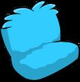 Fuzzy Blue Couch sprite 003
