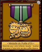 Mission 1 Medal full award fr