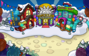 Puffle Party 2015 Town