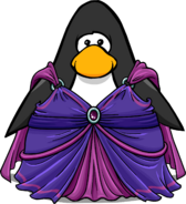 Fairy Gown on a Player Card