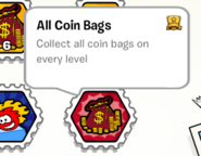 All coin bags stamp book