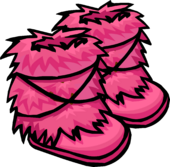 Pink Fuzzy Boots icon