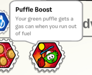 Puffle boost stamp book