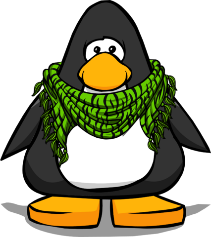 File:Green Zebra Scarf from a Player Card.png