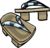 Icicle Sandals clothing icon ID 6166