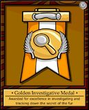 Golden Investigative Medal