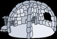 In Half Igloo igloo icon ID 37