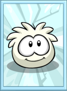 White Puffle Poster sprite 002