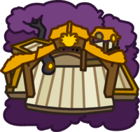 Gold Puffle Tree House icon