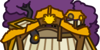 Gold Puffle Tree House
