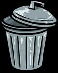 Trashcan furniture icon