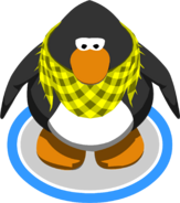 Bumblebee Scarf in-game